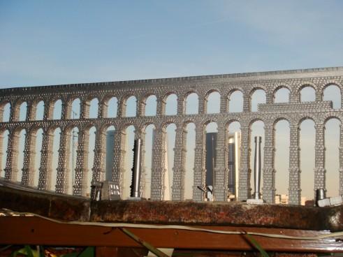 Colaboracion en procesado de Maqueta a escala 1/60 del Acueducto de Segovia.