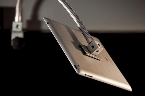 Hold Device, soporte con brazo flexible multidireccional para dispositivos electrónicos y objetos pequeños